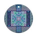 Celtic Atlantis Opal Ornament (Round)