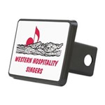 WHS Rectangular Hitch Cover