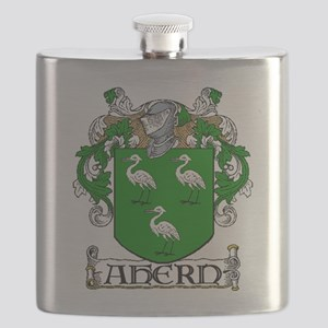 Ahern Coat of Arms Flask