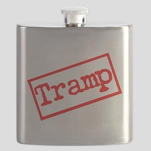 Tramp Stamp. Flask