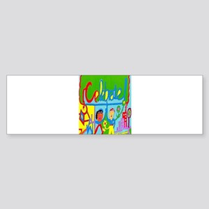 Celebrate Maze Sticker (Bumper)