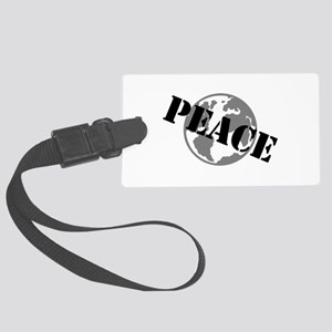 Peace on Earth Large Luggage Tag