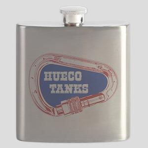Hueco Tanks Climbing Carabiner Flask