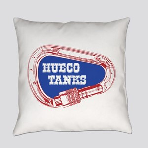 Hueco Tanks Climbing Carabiner Everyday Pillow