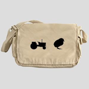 Tractor Chick Messenger Bag