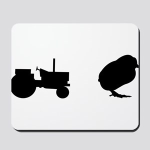 Tractor Chick Mousepad