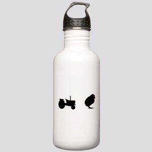 Tractor Chick Stainless Water Bottle 1.0L