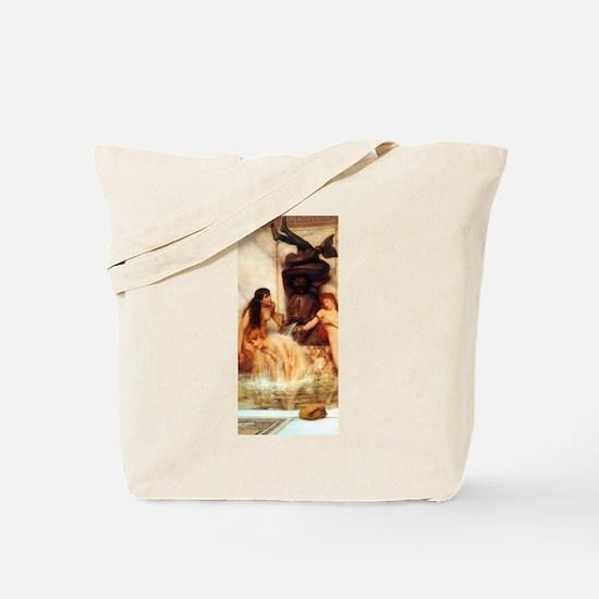 Alma-Tadema - Strigils & Sponges Tote Bag