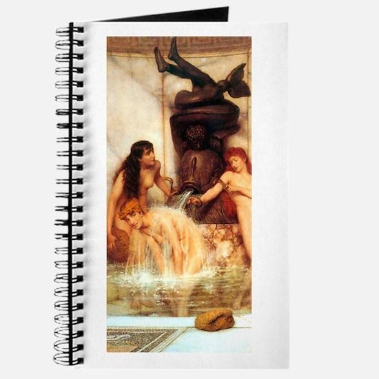 Alma-Tadema - Strigils & Sponges Journal