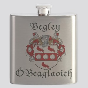 Begley in Irish/English Flask