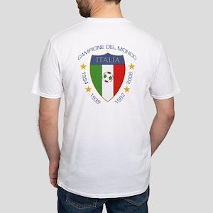 """""""Campione del Mondo"""" Scudo Fitted T-Shirt"""
