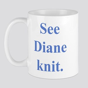 Diane Knits Mug