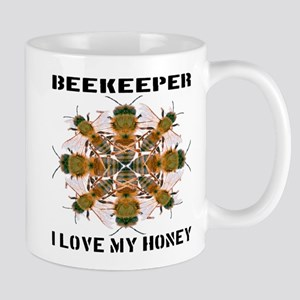 Beekeeper I Love My Honey Mug