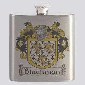 Blackman Coat of Arms Flask