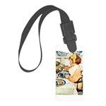 Breakfast Buddies Small Luggage Tag