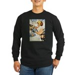 Breakfast Buddies Long Sleeve Dark T-Shirt