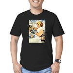 Breakfast Buddies Men's Fitted T-Shirt (dark)