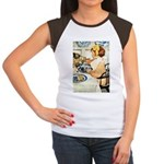 Breakfast Buddies Junior's Cap Sleeve T-Shirt