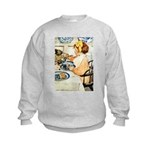 Breakfast Buddies Kids Sweatshirt