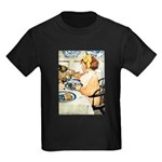 Breakfast Buddies Kids Dark T-Shirt