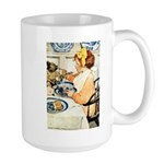 Breakfast Buddies Large Mug