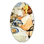 Breakfast Buddies Sticker (Oval 50 pk)