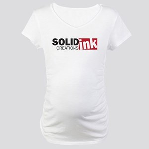 The Solid Ink Creations Logo Maternity T-Shirt