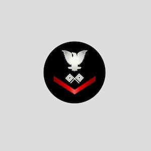 Navy PO3 Signalman Mini Button