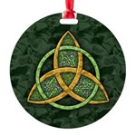 Celtic Trinity Knot Round Ornament