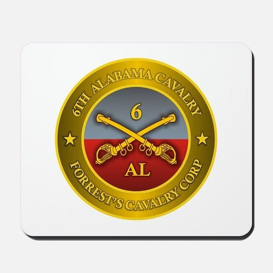 6th Alabama Cavalry Mousepad