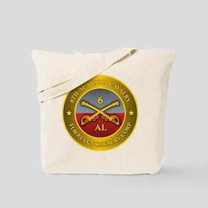 6th Alabama Cavalry Tote Bag