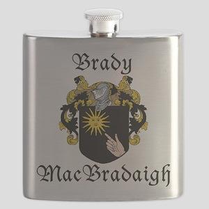 Brady in Irish/English Flask