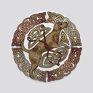 Celtic Dog Ornament (Round)