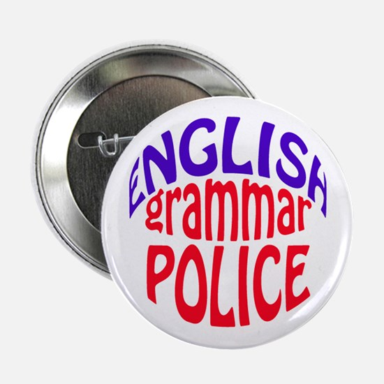 English grammar Police Button