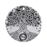 Celtic Tree of Life Ink Ornament (Round)