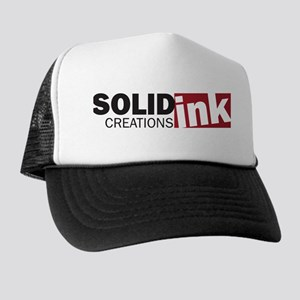 The Solid Ink Creations Logo Trucker Hat