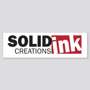 The Solid Ink Creations Logo Sticker (Bumper)
