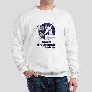 About Greyhounds Podcast Sweatshirt