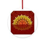 Celtic Dawn Ornament (Round)