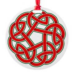 Celtic Christmas Knot Ornament
