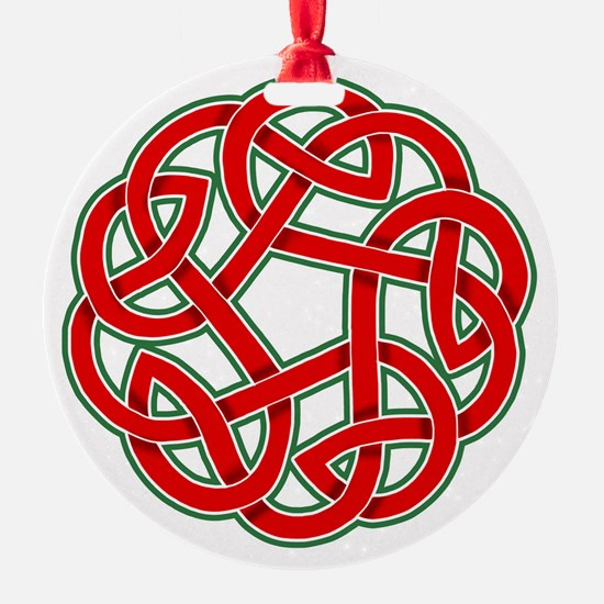 Celtic Christmas Knot Ornament