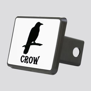Black Crow Rectangular Hitch Cover