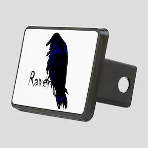 Raven on Raven Rectangular Hitch Cover