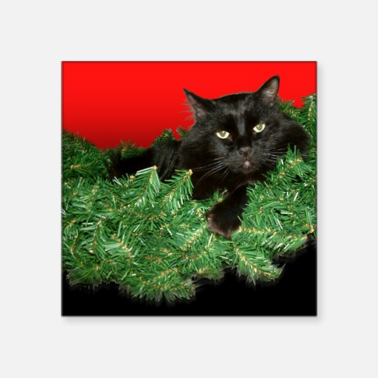"""Moewy Christmas Square Sticker 3"""" x 3"""""""