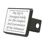Schnauzer Convenience Rectangular Hitch Cover