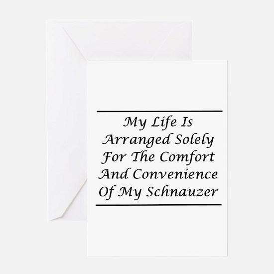 Schnauzer Convenience Greeting Card