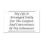 Schnauzer Convenience Car Magnet 20 x 12