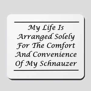 Schnauzer Convenience Mousepad