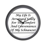 Schnauzer Convenience Wall Clock