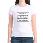 Schnauzer Convenience Jr. Ringer T-Shirt